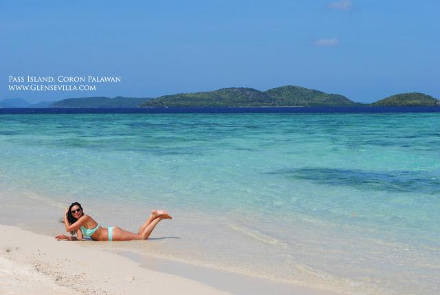 Pass Island Coron Palawan, beach