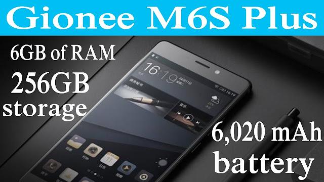 Gionee M6S Plus 256GB