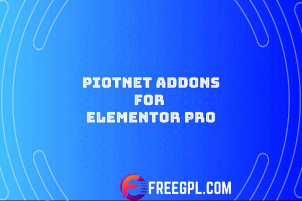 Poitnet Addons for Elementor Pro Nulled Download Free