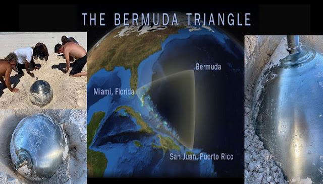 Από πείραμα της Ρωσίας «Mirror Universe» ειναι η μπάλα τιτάνιου που βρέθηκε στο Τρίγωνο των Βερμούδων