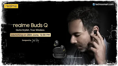 Realme Buds Q Is Said To Launch In India On June 25 Via Flipkart