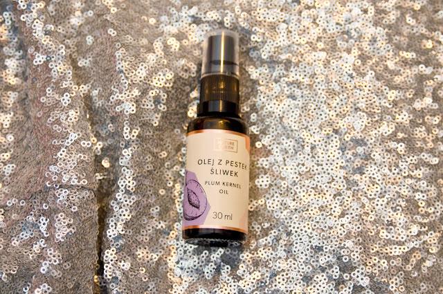 olej z pestek śliwki, właściwości, działanie