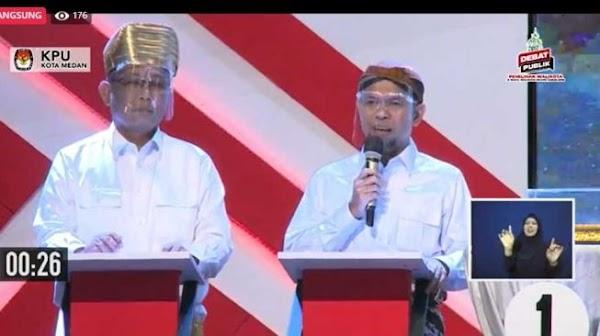 Debat Kedua Pilkada Medan, Akhyar Skakmat Mantu Jokowi Soal Anggaran Rp 30 Triliun
