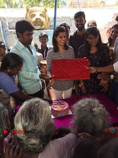 Tamil Actress Varalaxmi Sarathkumar Birthday Celetion Stills  0014.jpg