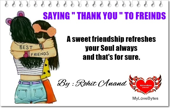 Quotes on Gratitude to Friends, Best Thank You Messages For Your Friends