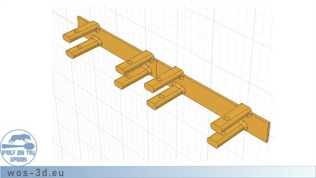 CAD Kettenhalter