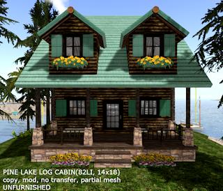 Pine Lake Log Cabin