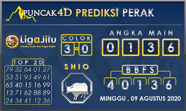 PREDIKSI TOGEL PERAK PUNCAK4D 09 AGUSTUS 2020