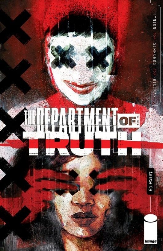 Cover of The Department of Truth #9