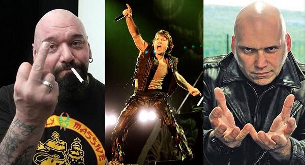 """Blaze Bayley """"Sería divertido un concierto de Iron Maiden con sus tres cantantes"""""""