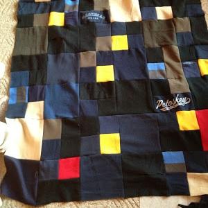 sweatshirt quilt