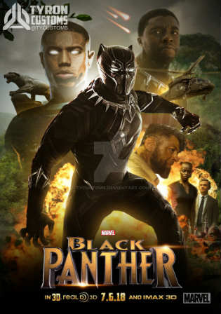 Black Panther 2018 HDTS 350MB Hindi Dubbed 480p Watch Online Full Movie Download bolly4u