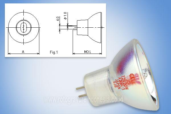 ukuran lampu JCR