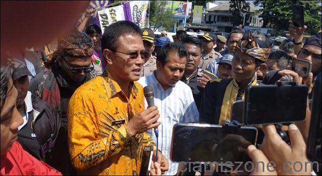 Terkait Ridwan Saidi, Bupati Ciamis Ambil Jalur Hukum