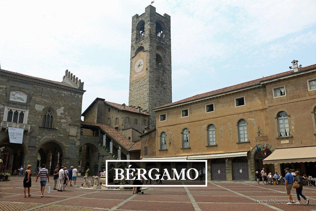 Qué ver en Bérgamo: la ciudad alta y la baja