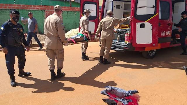 Tiroteio em plena luz do dia deixa dois feridos em Vilhena