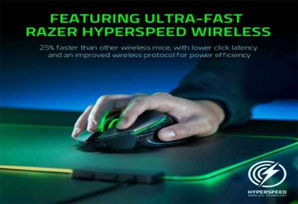 Razer Basilisk Ultimate HyperSpeed Wireless Gaming Mouse