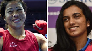 1- Mary Kom recommended for Padma Vibhushan, PV Sindhu for Padma Bhushan
