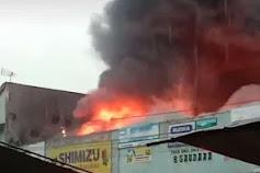 Breaking News! Pasar Bobotsari Purbalingga Terbakar