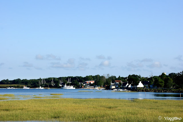 La penisola di Conleau sul golfo di Morbihan