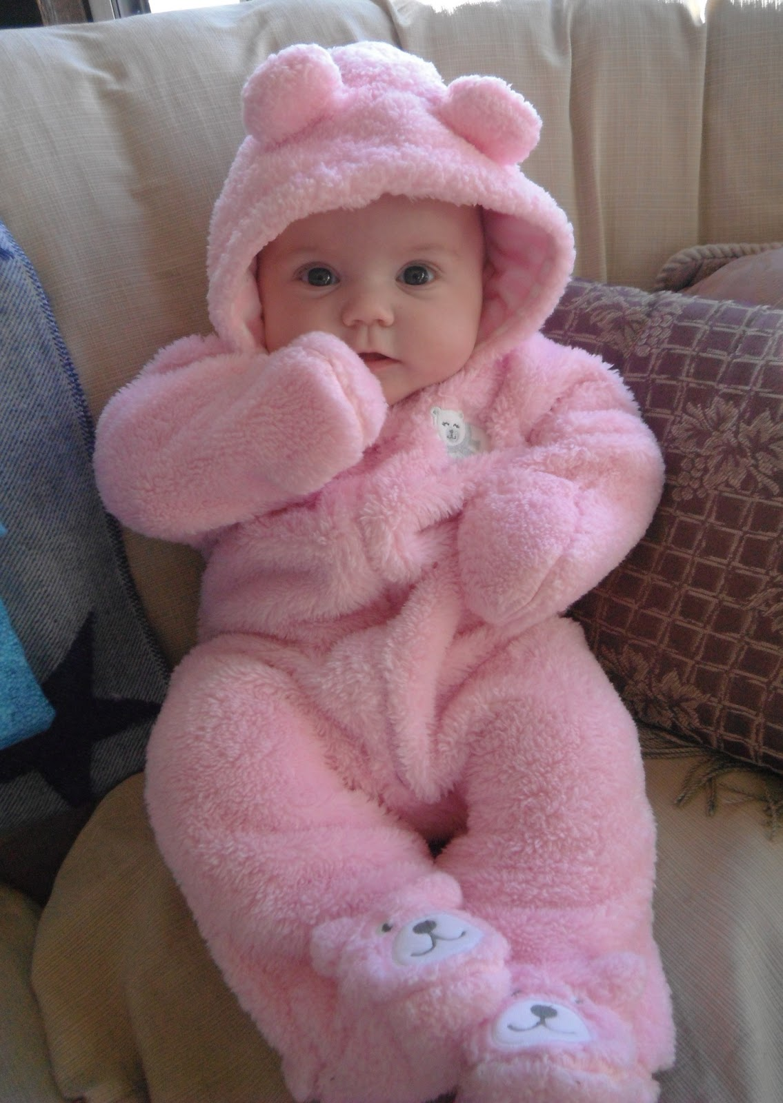 ded4d2c63 It Helps To Have A Cute Baby Lying Around In A Pink Bear Suit. Sc 1 St Luke  I Am Your Father