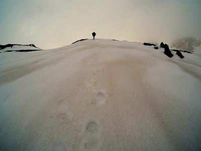 Etna zimą, zimowe podejście