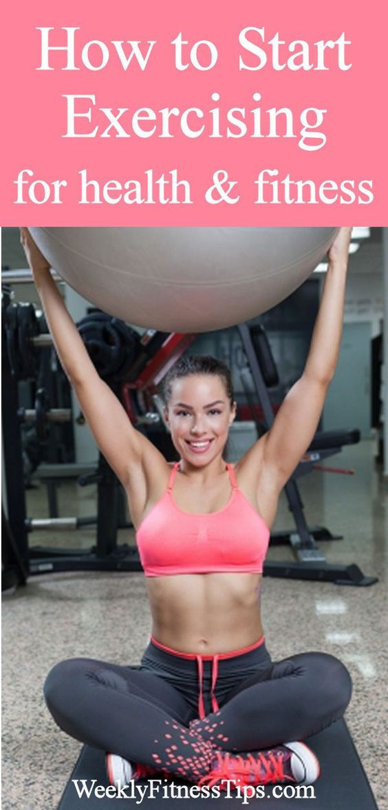 How to Start Exercising for Health and Fitness