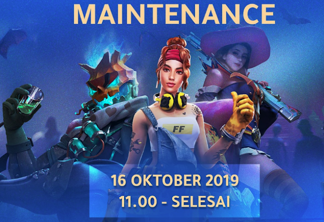 Free Fire Highlight Patch Terbaru 16 Oktober 2019 Siap-Siap Maintenance 1