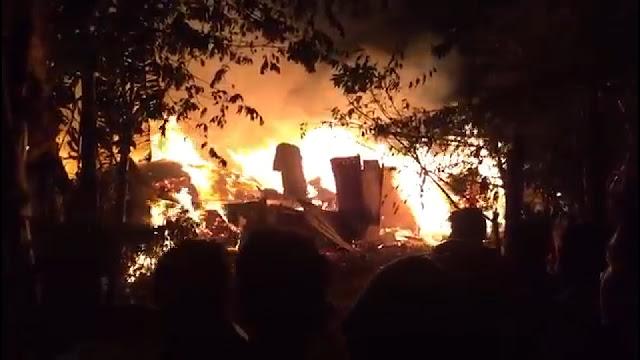 Inilah Video Kebakaran Besar Di Gg Nangka Jalan Raya Joglo !