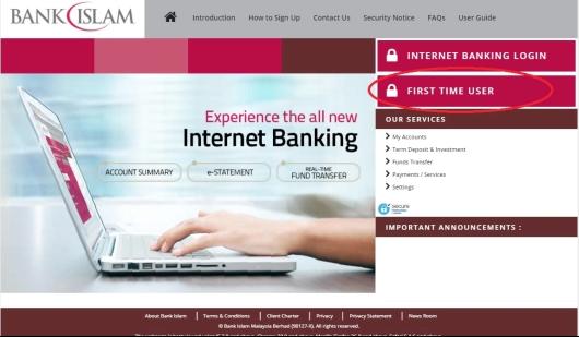 Cara Buat Online Bank Islam (Daftar di BankIslam.biz)