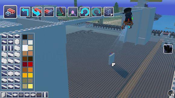 樂高世界 (LEGO Worlds) 建造城堡教學