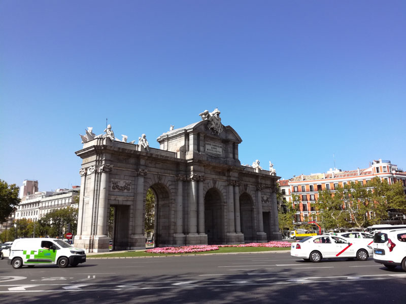 Foto: L'ingresso del Real Jardín Botánico