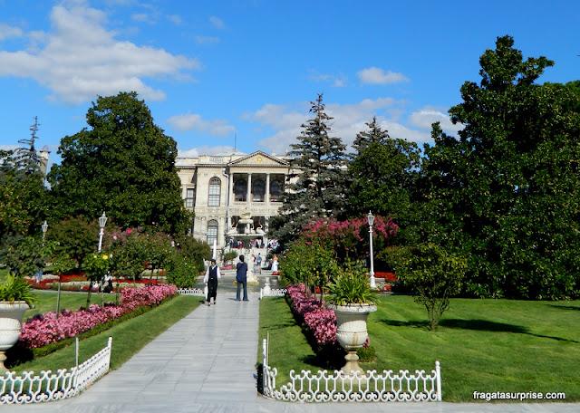 Palácio de Dolmabahçe, Istambul