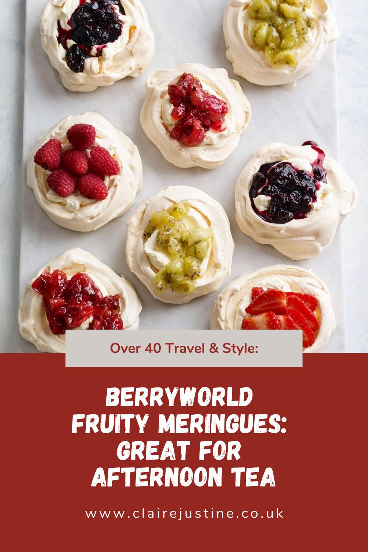 BerryWorld Fruity Meringues: Afternoon Tea.