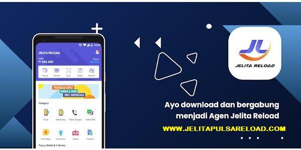 Download JL Mobile Topup Aplikasi Android Terbaik Server Jelita Reload