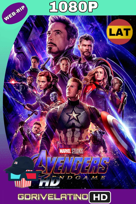Avengers: Endgame (2019)  (OPEN MATTE) WEBRip 1080p (Latino-Inglés) MKV