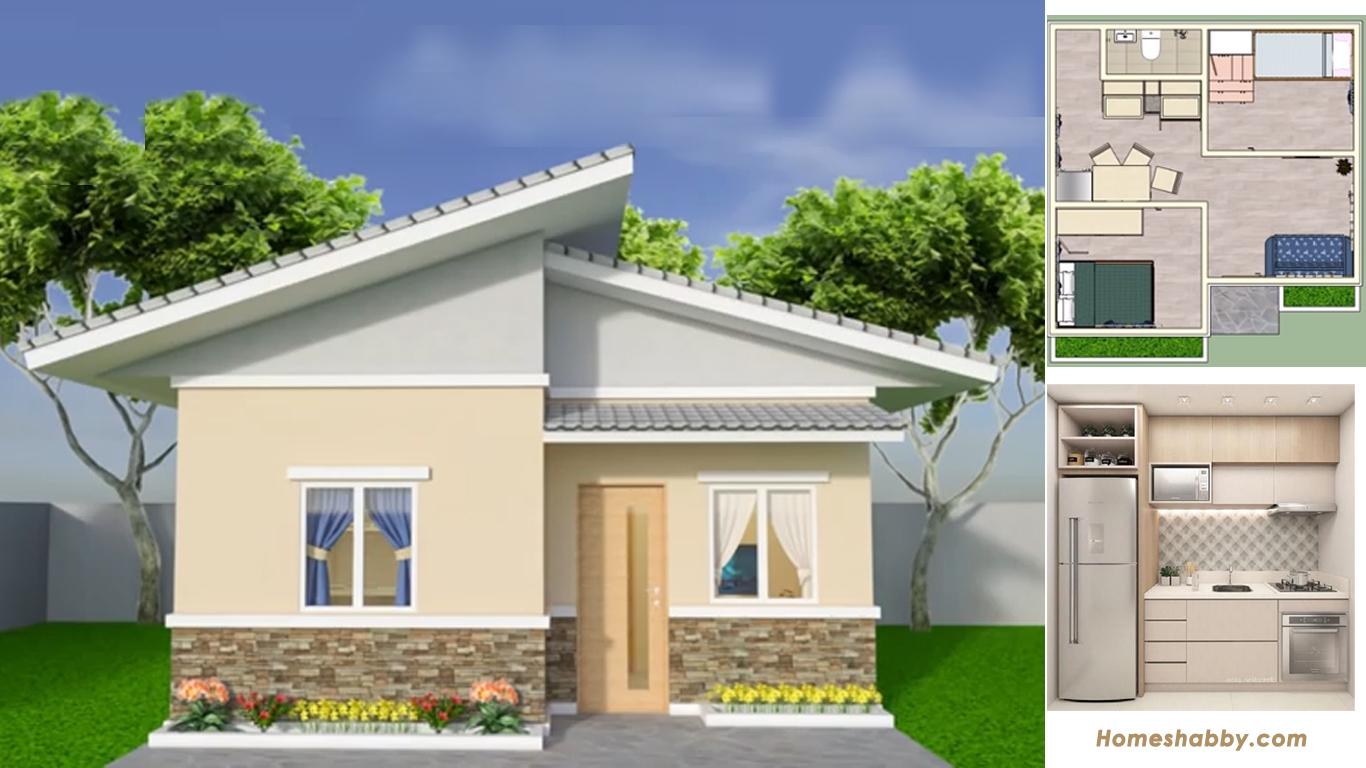 Desain dan Denah Rumah Kecil dan Sederhana Type 36 yang ...