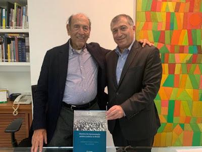 Conib encontra decano da comunidade judaica no Rio