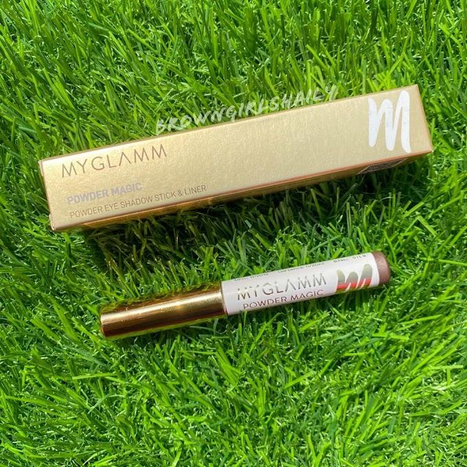 MyGlamm Powder Magic Eyeshadow Pencil Review