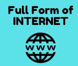 full form of internet in hindi