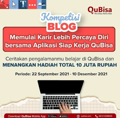lomba blog aplikasi siap kerja QuBisa