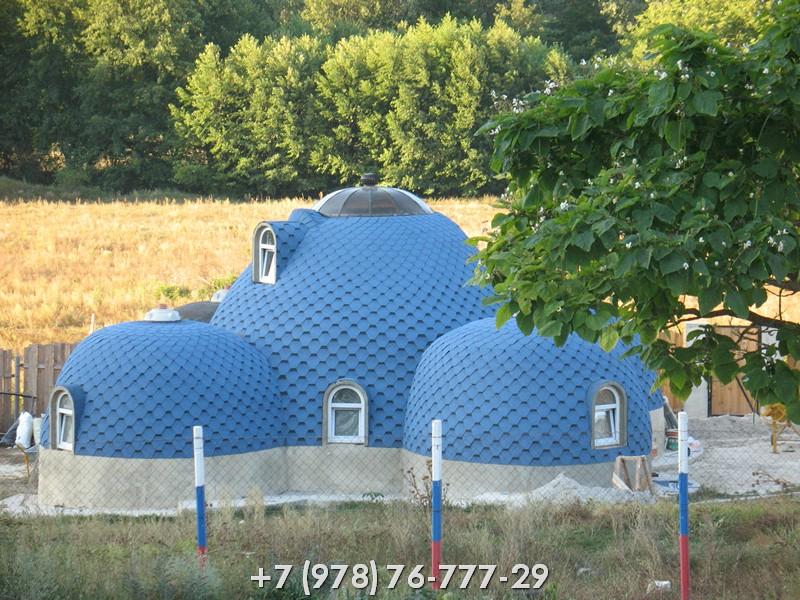 Купольный дом в Крыму