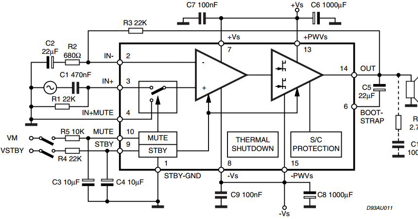 home audio amplifier wiring