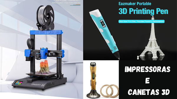 Precisas de um impressora ou caneta 3D? Aproveita o Black Friday da Gearbest