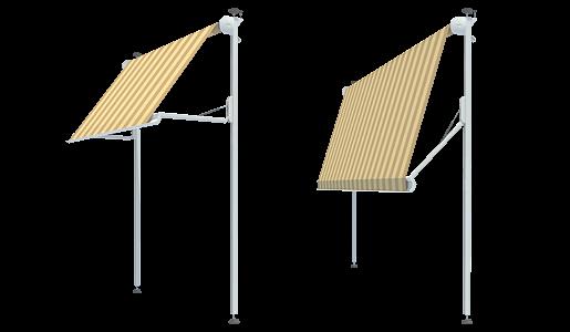 KLEMM-Markisen für Balkone neuesten