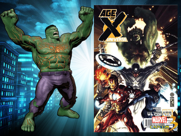 Ultimate Marvel Vs Capcom 3 She Hulk By Kaboxx On Deviantart