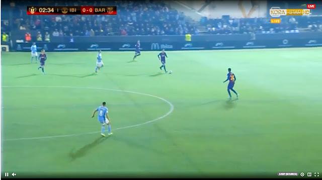 مشاهدة مباراة برشلونة وايبيزا بث مباشر الان -  مباراة برشلونة اليوم -  موعد مباراة برشلونة كاس ملك اسبانيا