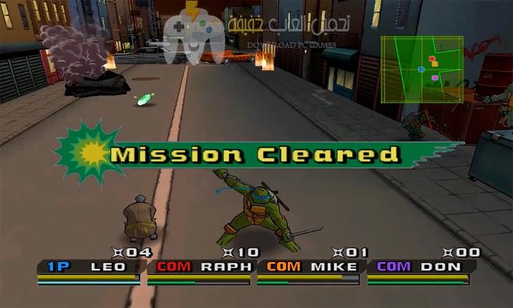 تحميل لعبة سلاحف النينجا 3 للكمبيوتر
