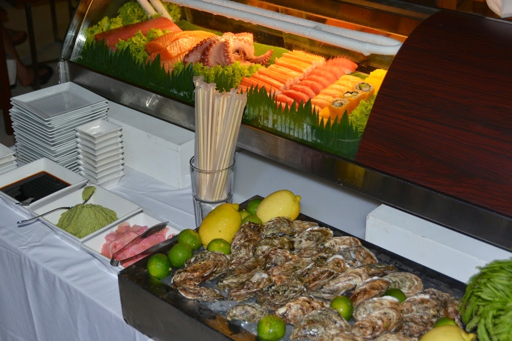 Bimi Beach Club Barbecue Phuket oyster