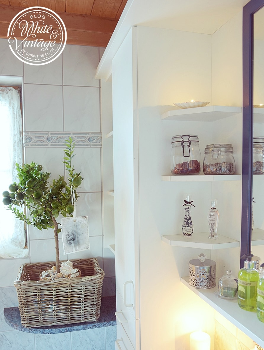Badezimmer dekorieren.